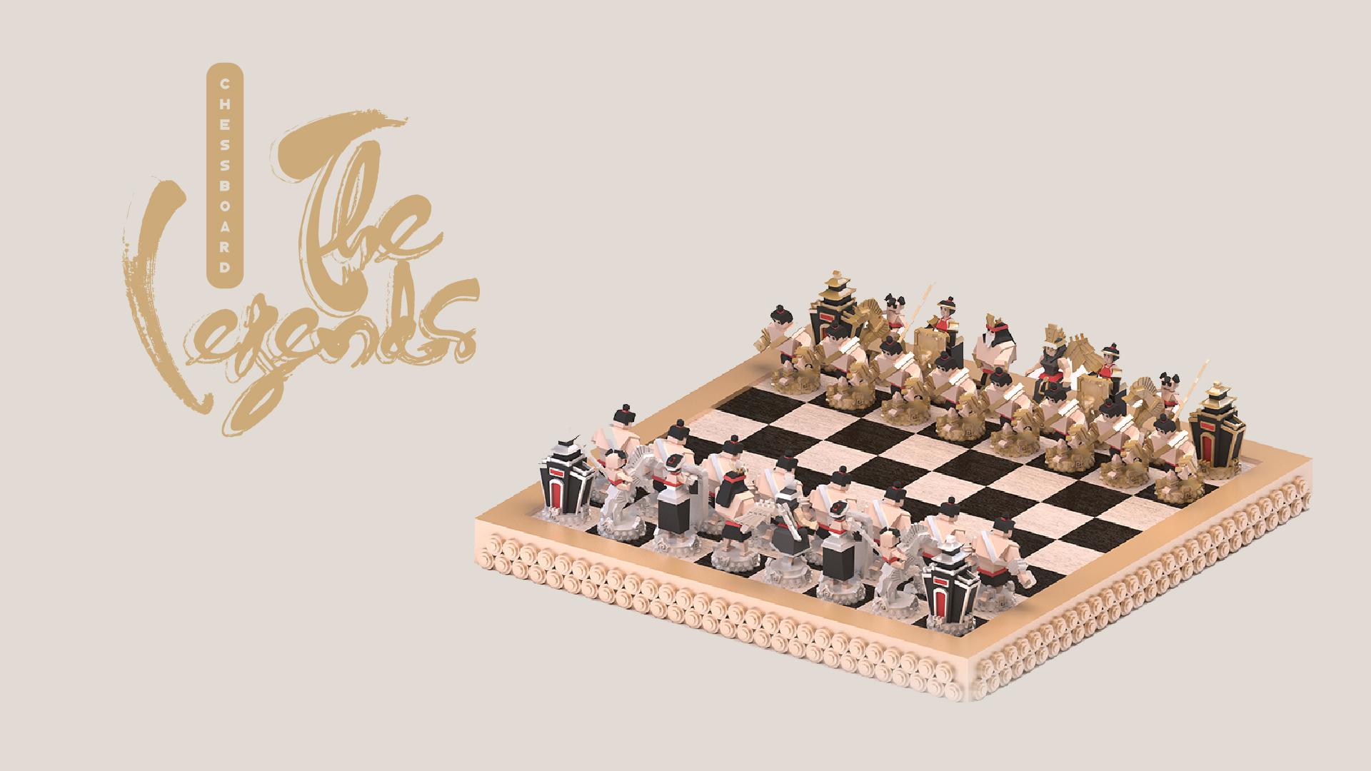 The Legends, chessboard