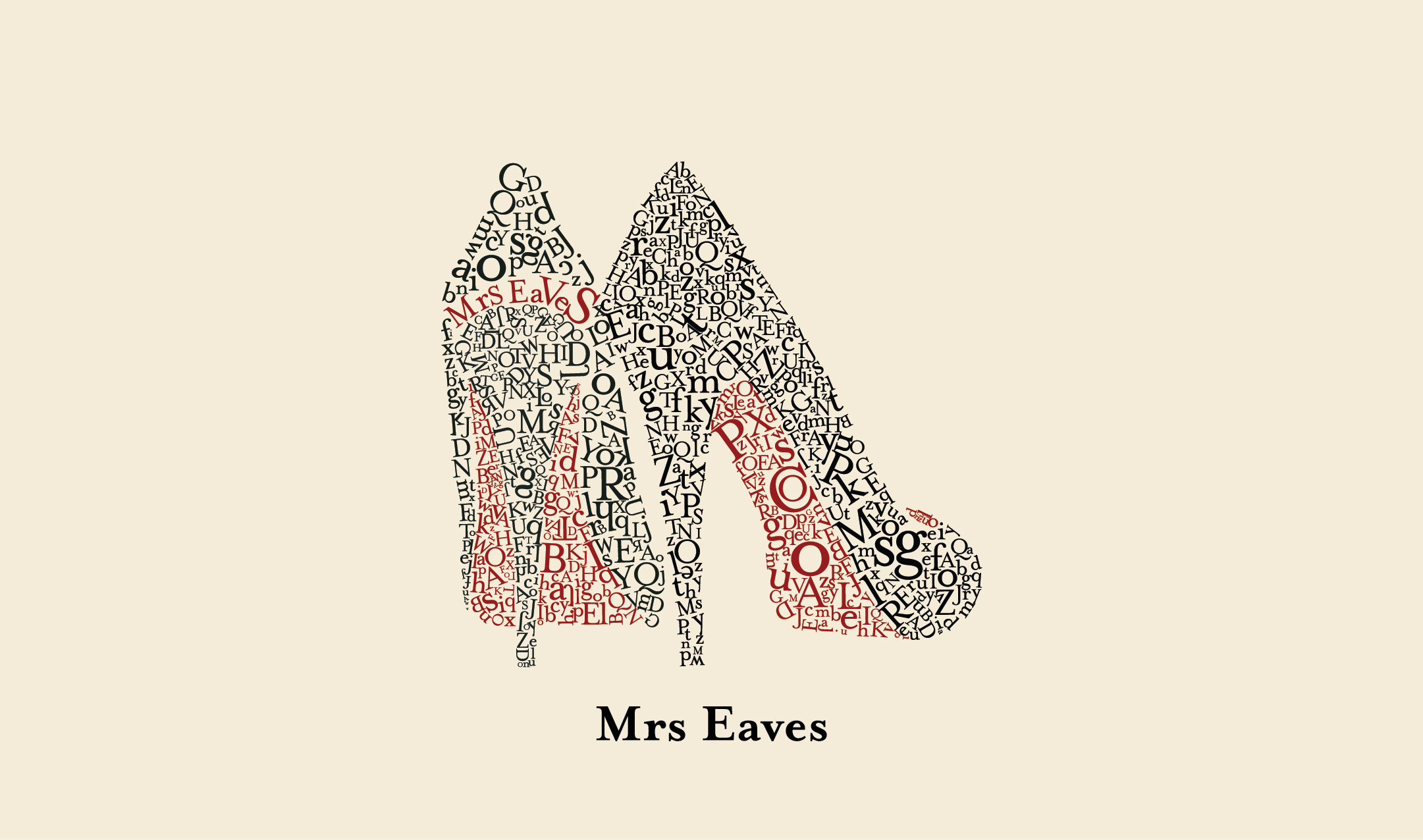 Mrs Eaves, Type Specimen